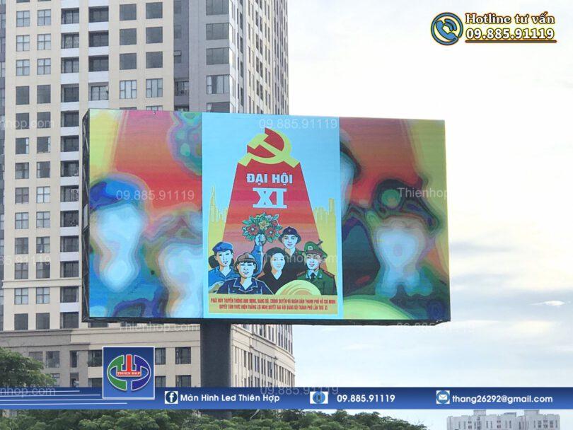 MAN HINH LED P5 NGOAI TROI SIEU LON