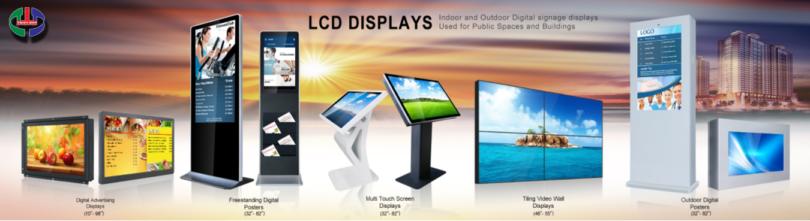 MAN HINH QUANG CAO LCD
