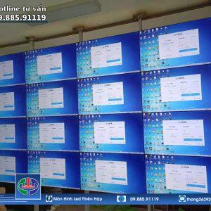 MAN HINH LCD GHEP 55 INCH - SAMSUNG - VIEN 3,5MM